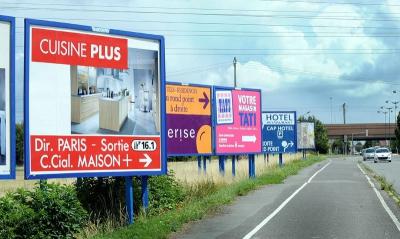 ville,urbanisme,paysage,publicité,pollution