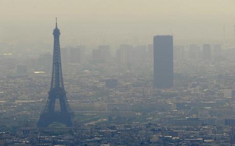 pollution,ville,atmosphère,air,santé,paris,particules fines,environnement