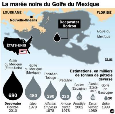 écosystème,pollution,poissons,amérique,usa,pétrole,marées noires