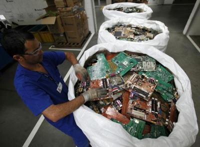 déchets,pollution,informatique,recyclage,mercure,onu