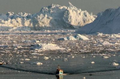 groenland,changements climatiques,océans,amérique,canada,iceberg,atlant