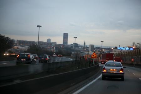 pollution,air,atmosphère,voiture,ville,paris