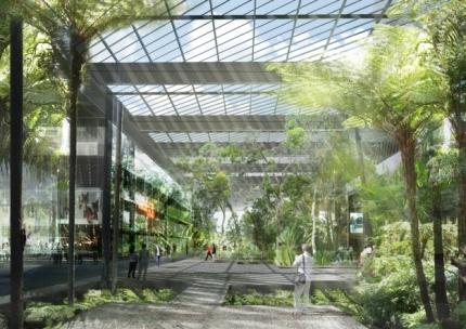 architecture, bâtiment, écologie, paris