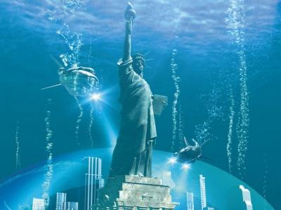 new york,inondation,changements climatiques,océan,co2,gaz à effets de serre,giec,climat