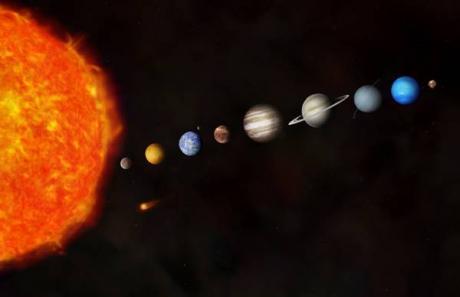 système solaire,planète,astronomie,sonde,nasa,exploration,soleil,pluton