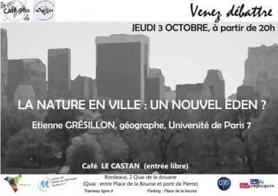 ville,nature,écologie,biodiversité,foret,prairies,changements climatiques,pollution,bordeaux