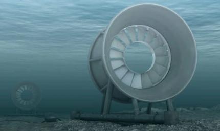 mer,énergies renouvelables,énergies,environnement,hydrolienne